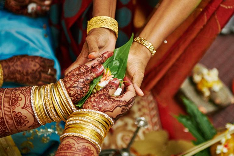 Image of women hands.