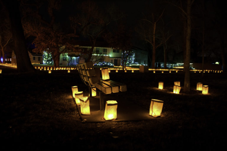 Luminaria To Light The Way Home On Being Project