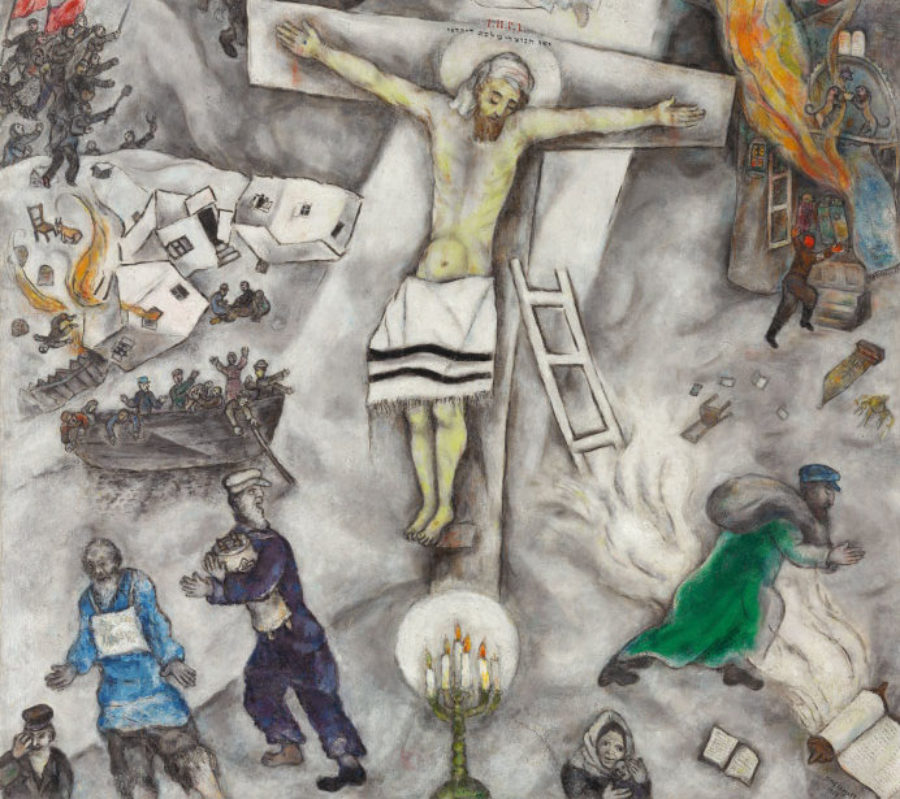 Computer Science Essay White Crucifixion By Marc Chagall Image By Marc Chagallart Institute Of  Chicago Proposal Essay Outline also Topics For Proposal Essays Joel Marcus  The Jewish Roots Of The Christian Story  The On Being  Argumentative Essay Sample High School