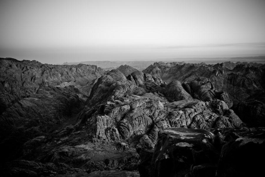 Sunrise over Mt. Sinai