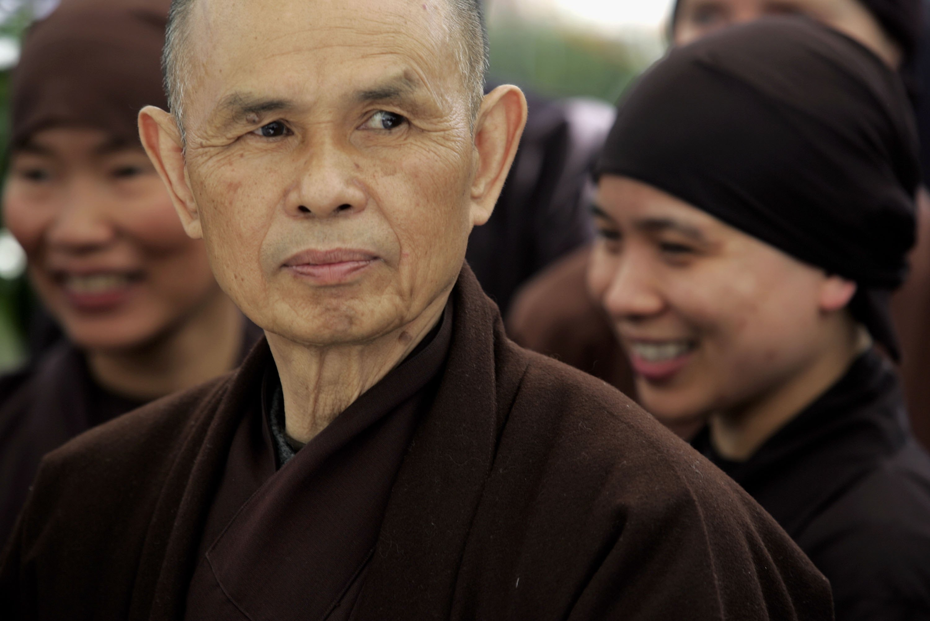 Thich Nhat Hanh, Cheri Maples, and Larry Ward — Being Peace in a World of Trauma