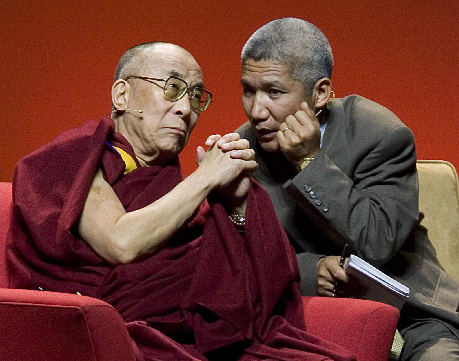Thupten Jinpa  Translating The Dalai Lama  The On Being Project