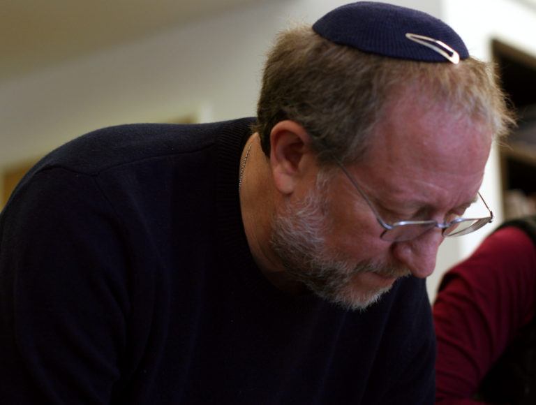 Yossi Klein Halevi in his offices at the Shalom Hartman Institute in Jerusalem.