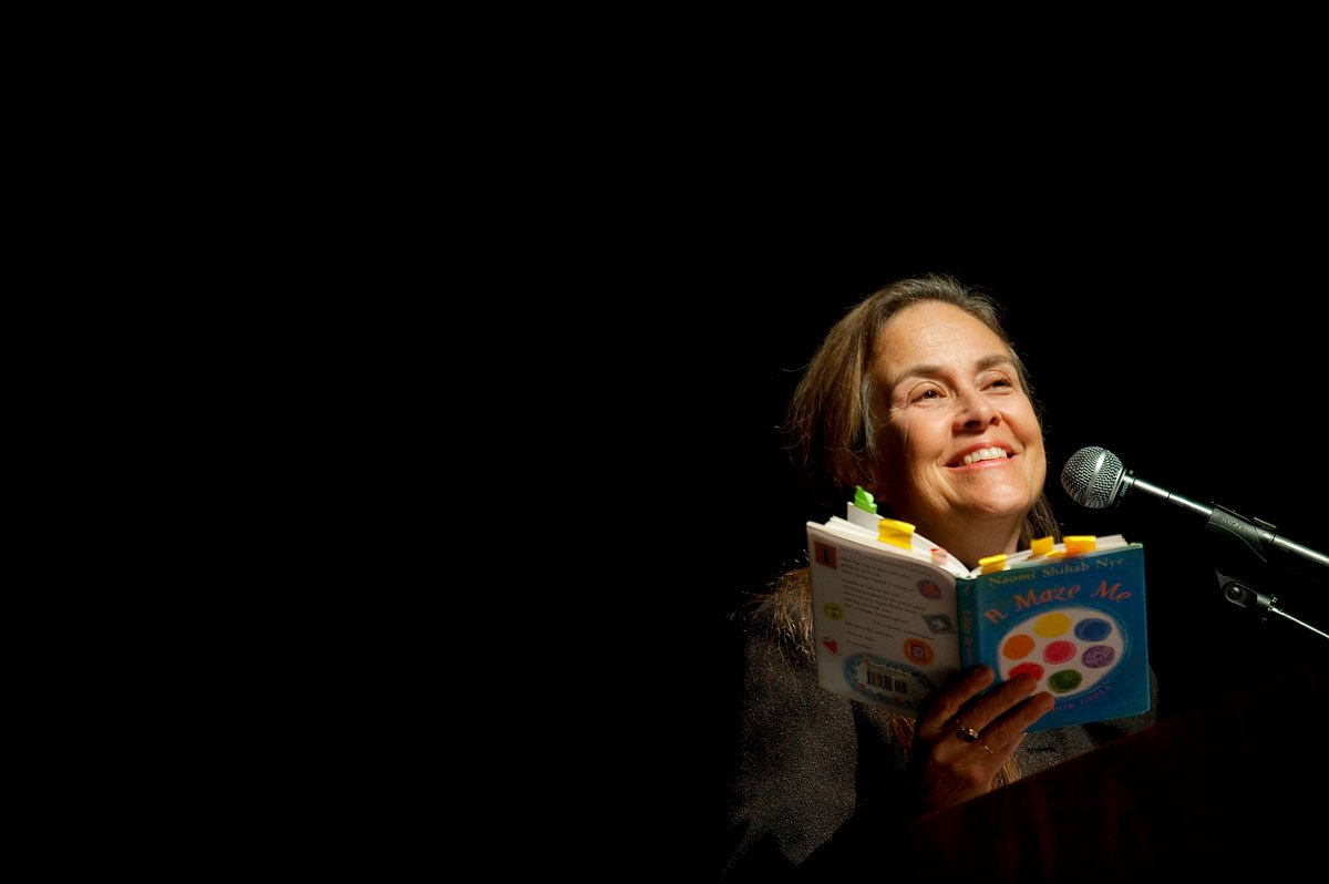 Naomi Shihab Nye Your Life Is A Poem The On Being Project