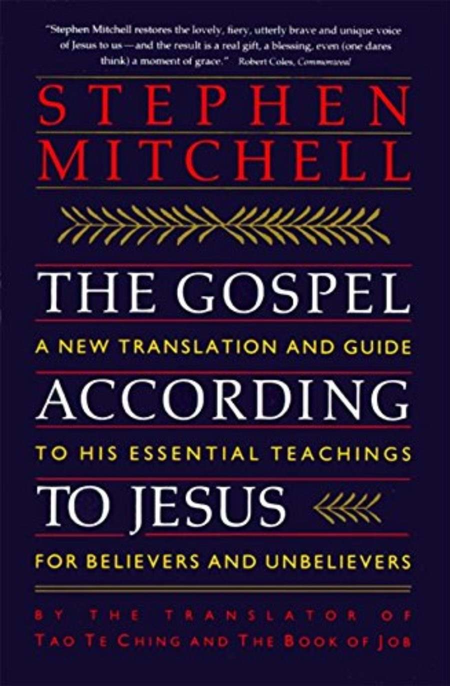 Cover of The Gospel According to Jesus: A New Translation and Guide to His Essential Teachings for Believers and Unbelievers