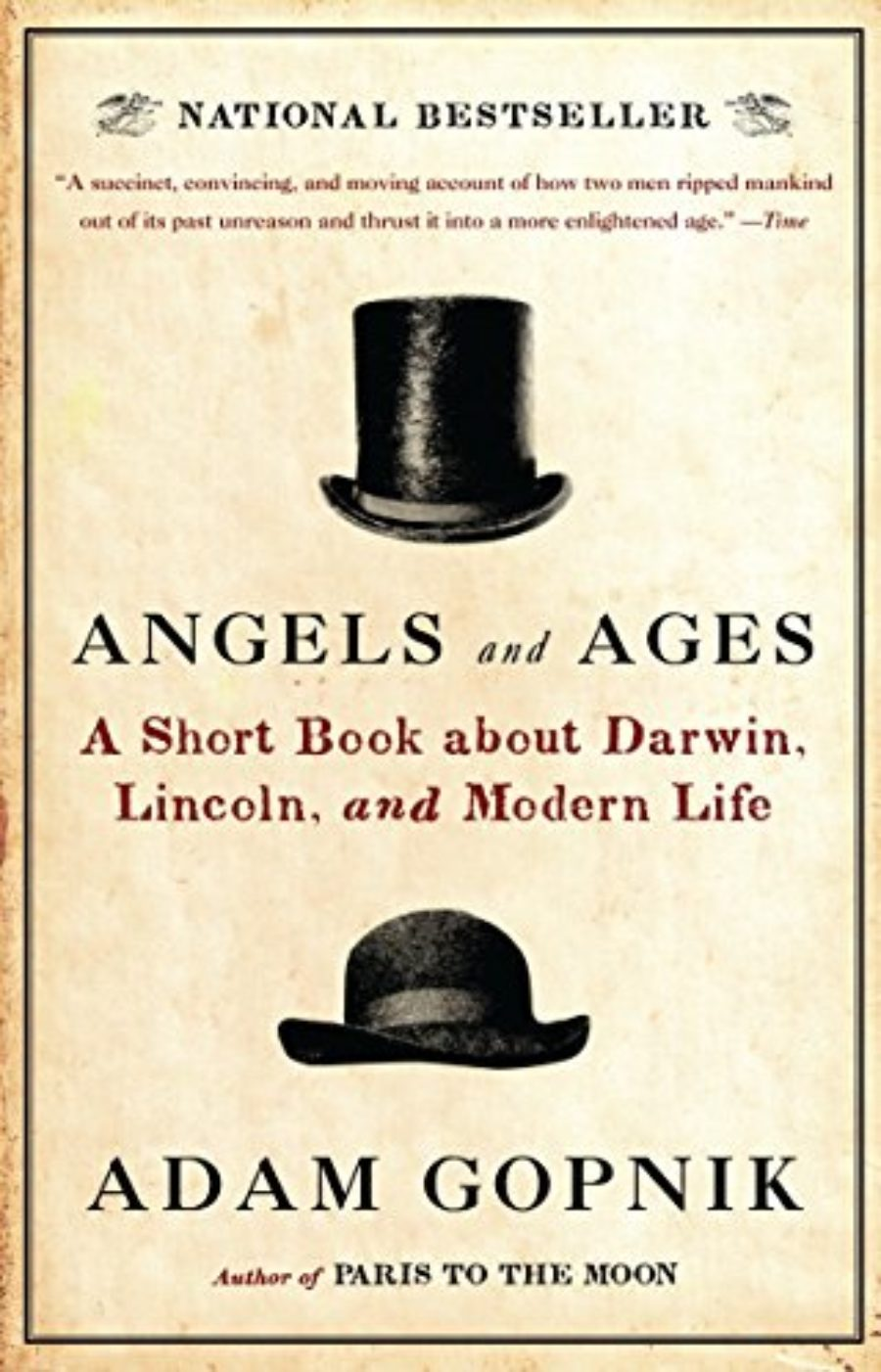 Cover of Angels and Ages: Lincoln, Darwin, and the Birth of the Modern Age