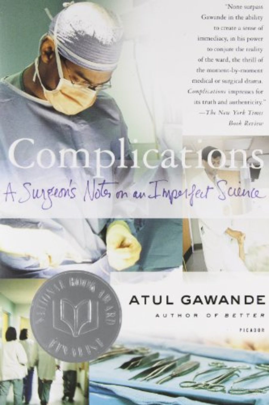 Cover of Complications: A Surgeon's Notes on an Imperfect Science