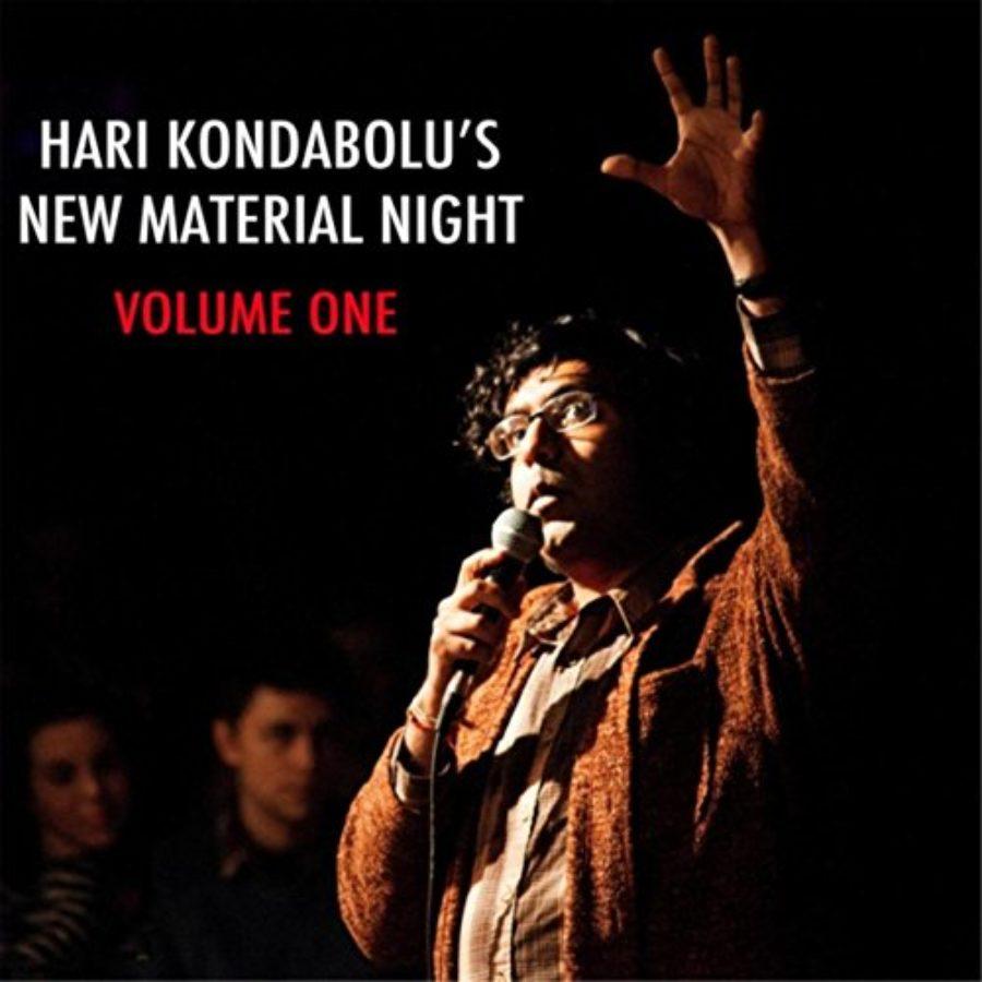 Cover of Hari Kondabolu's New Material Night, Vol. 1 [Explicit]