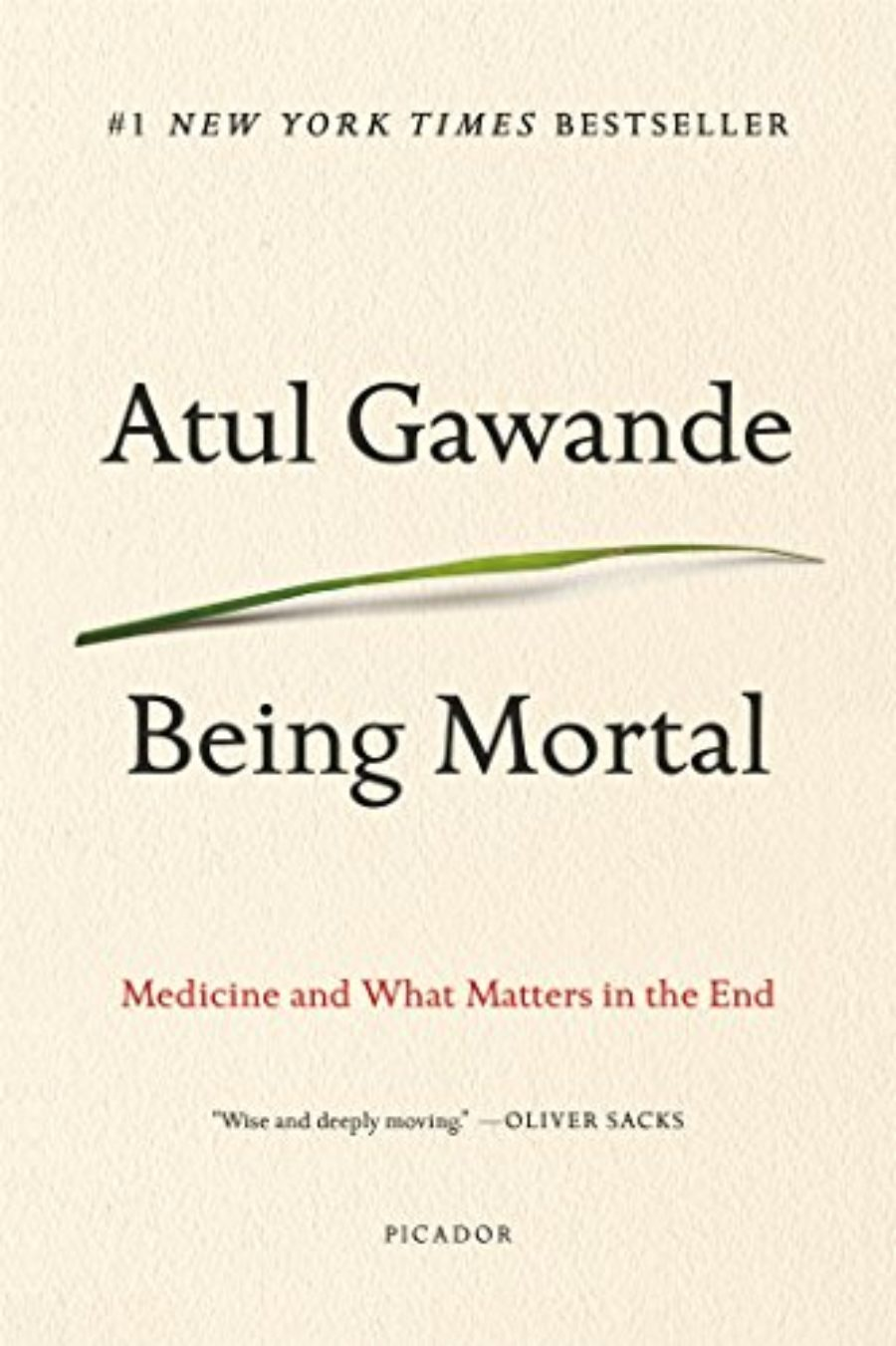 Cover of Being Mortal: Medicine and What Matters in the End