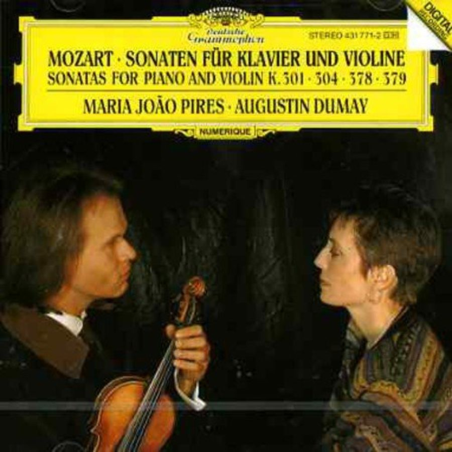 Cover of Piano & Violin Sonatas KV301 304 378 & 379