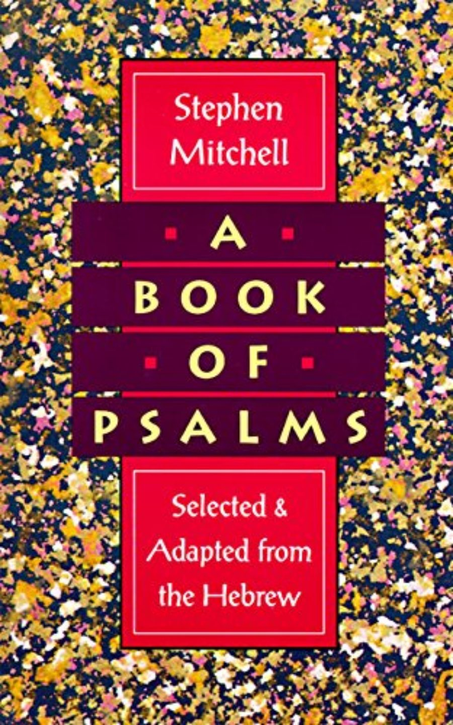 Cover of A Book of Psalms: Selected and Adapted from the Hebrew
