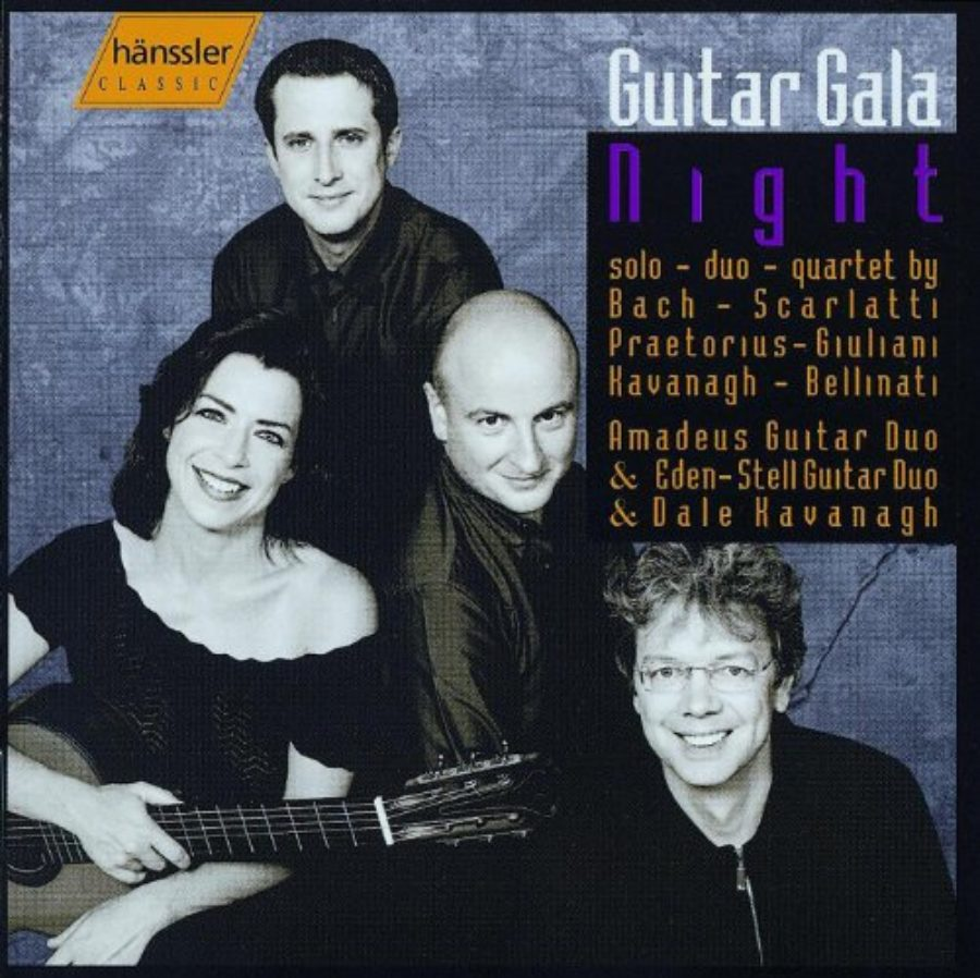 Cover of Amadeus Guitar Duo: Bach / Scarlatti / Giuliani / Praetorius