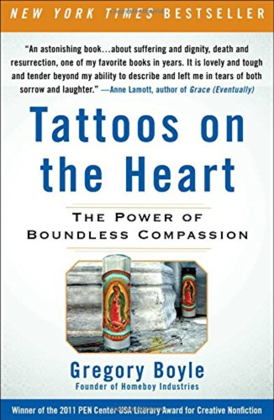 Cover of Tattoos on the Heart: The Power of Boundless Compassion