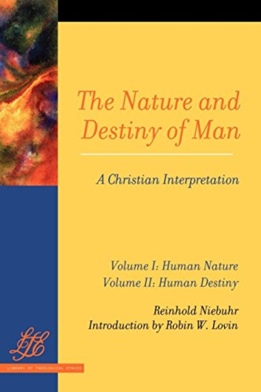 Cover of The Nature and Destiny of Man: A Christian Interpretation (2 Volume Set)