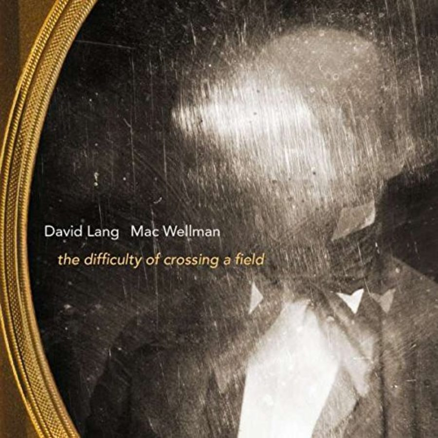 Cover of David Lang & Mac Wellman: the difficulty of crossing a field