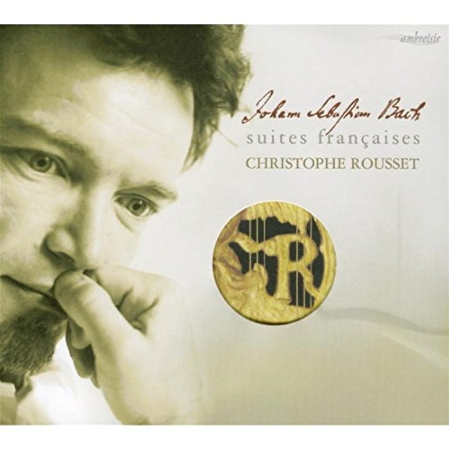 Cover of Bach: Suites Francaises (French Suites, BWV 812-817) /Rousset