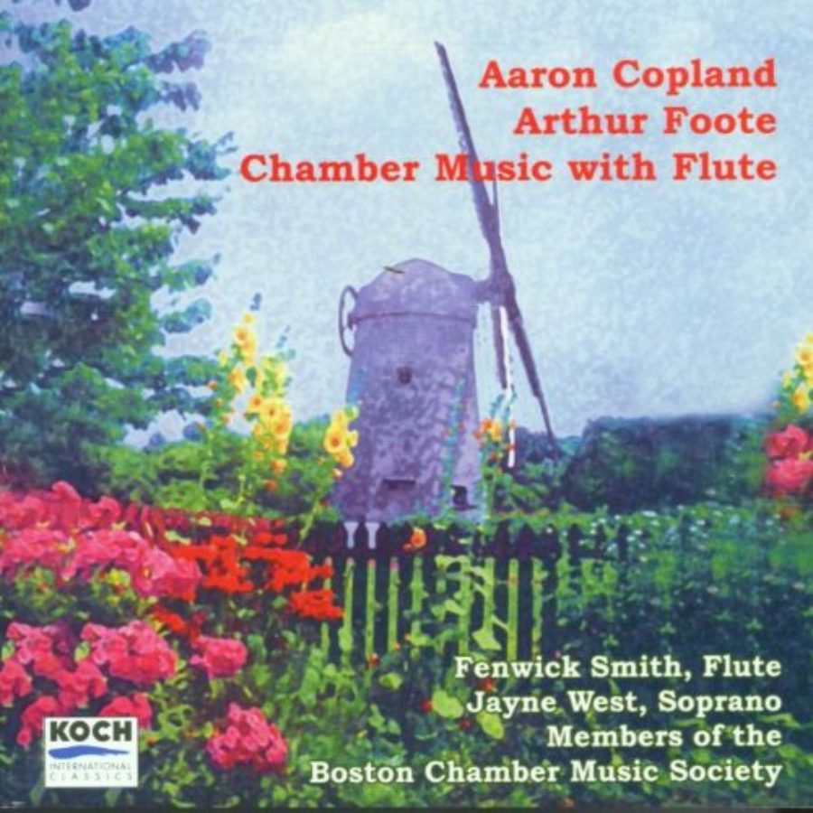 Cover of Chamber Music With Flute