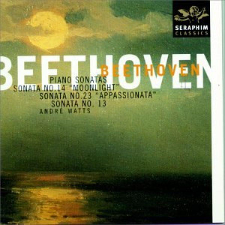 Cover of Beethoven: Piano Sonatas Nos. 13, 14, & 23 ~ Watts