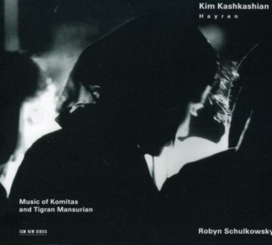 Cover of Music of Komitas & Tigran Mansurian