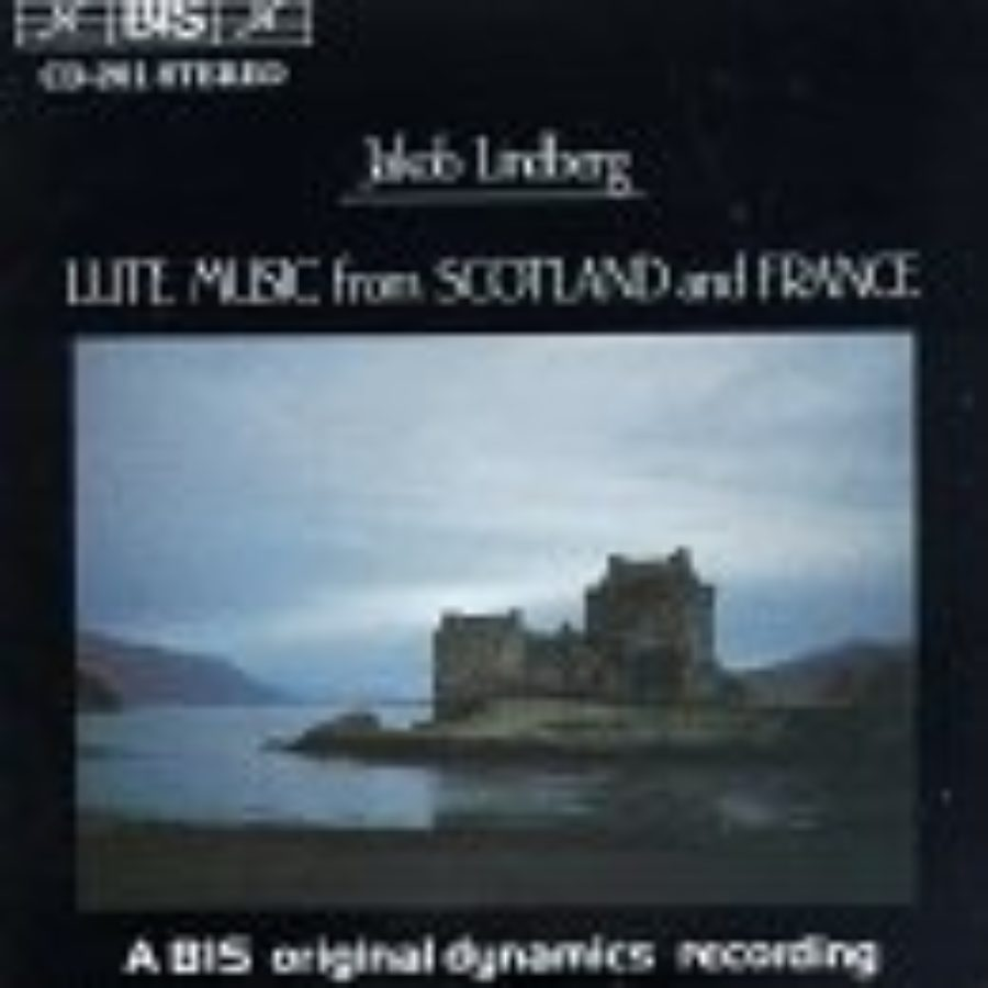 Cover of Scottish & French Lute Music