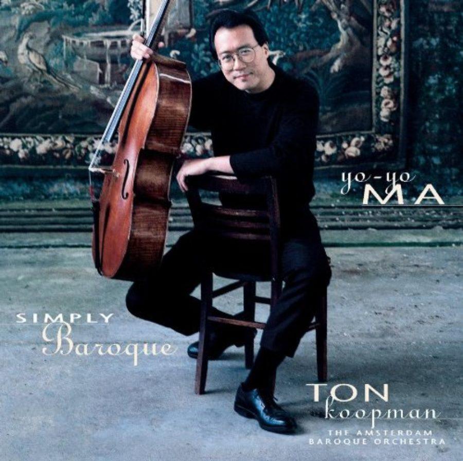 Cover of Yo-Yo Ma - Simply Baroque ~ Bach & Boccherini / ABO, Koopman