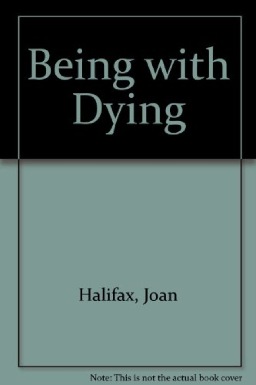 Cover of Being with Dying