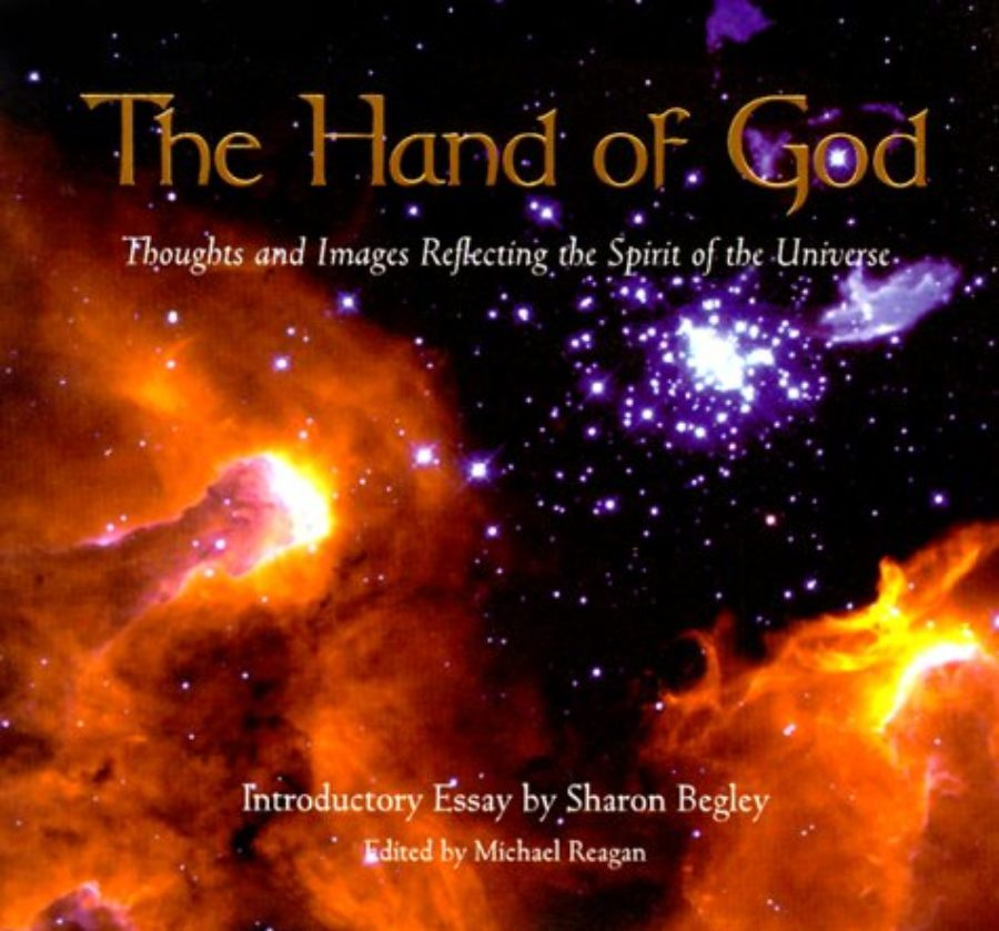 Cover of The Hand Of God: A Collection of Thoughts and Images Reflecting the Spirit of the Universe