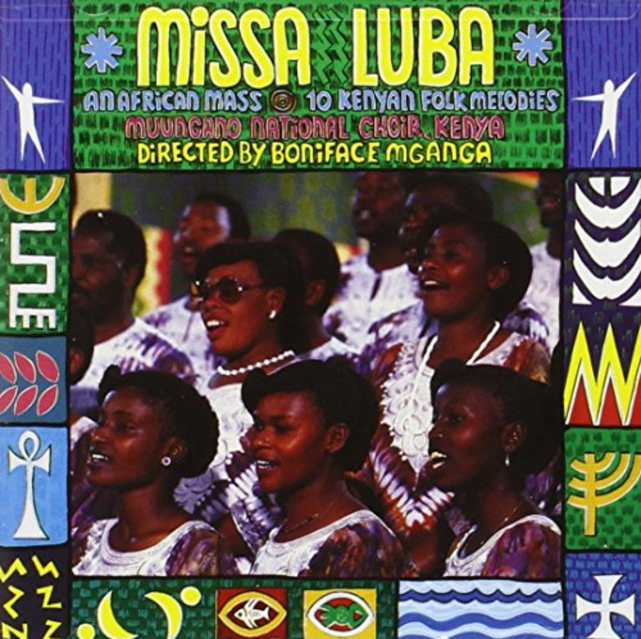 Cover of Missa Luba