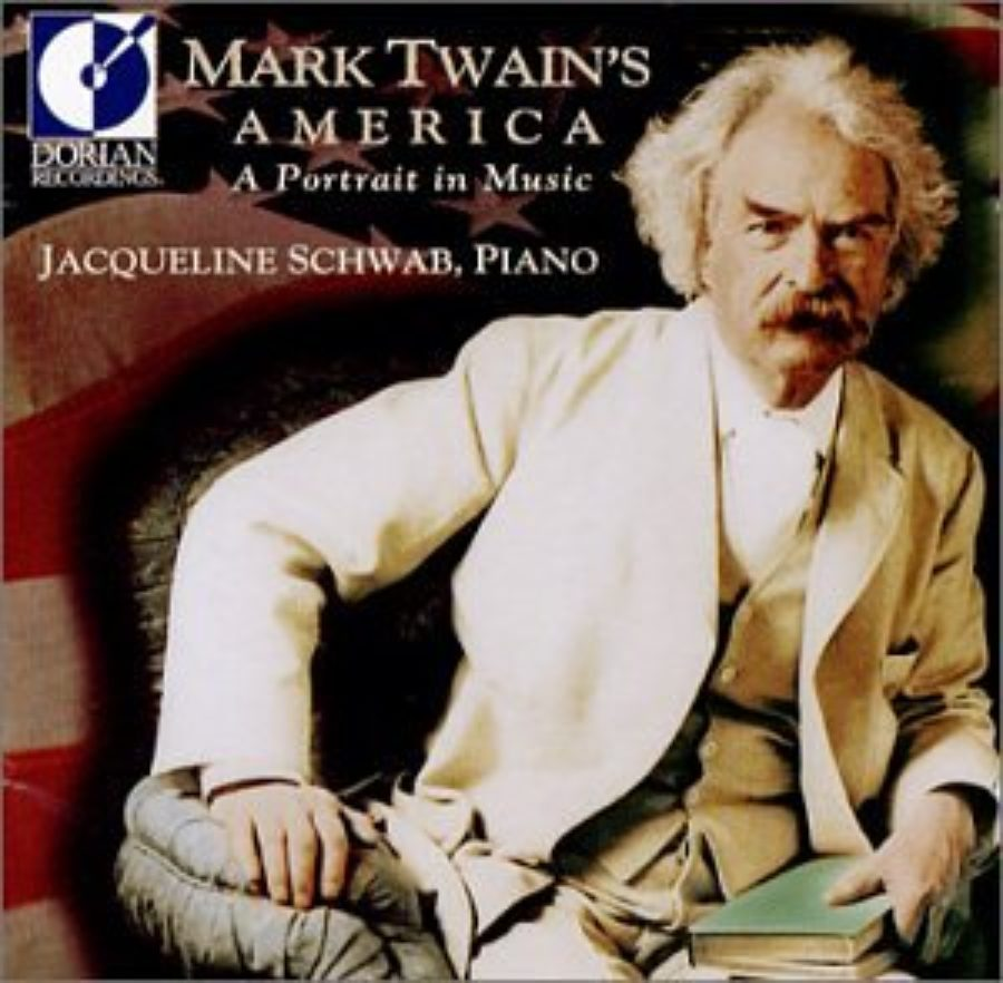 Cover of Mark Twain's America: Portrait in Music