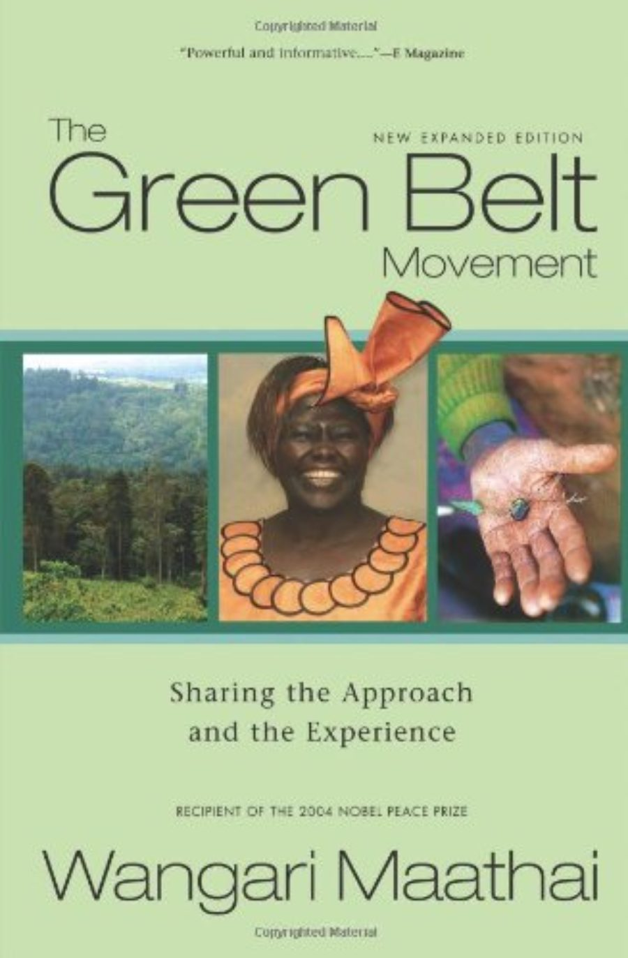 Cover of The Green Belt Movement: Sharing the Approach and the Experience