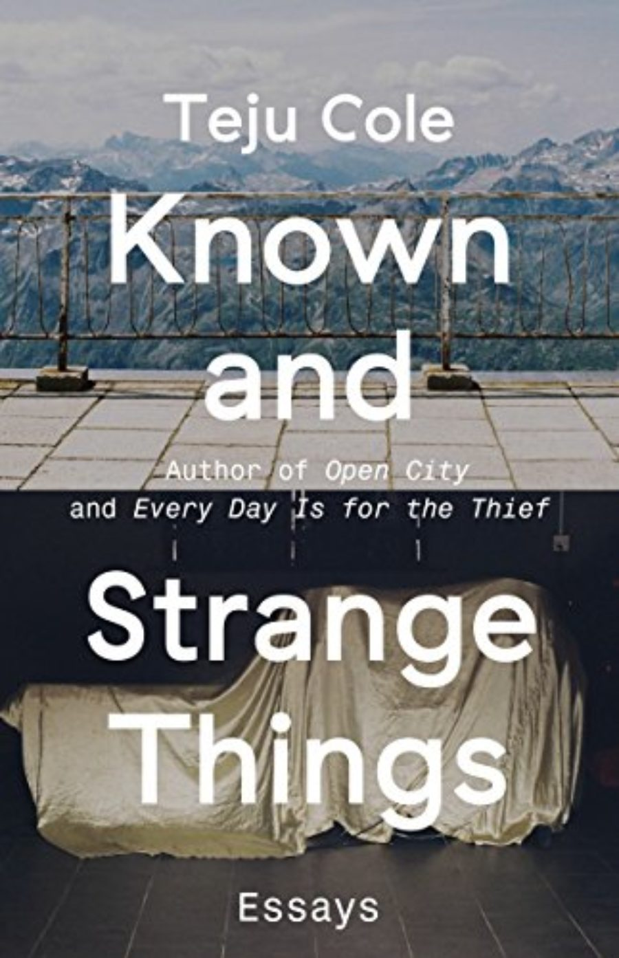 Cover of Known and Strange Things: Essays