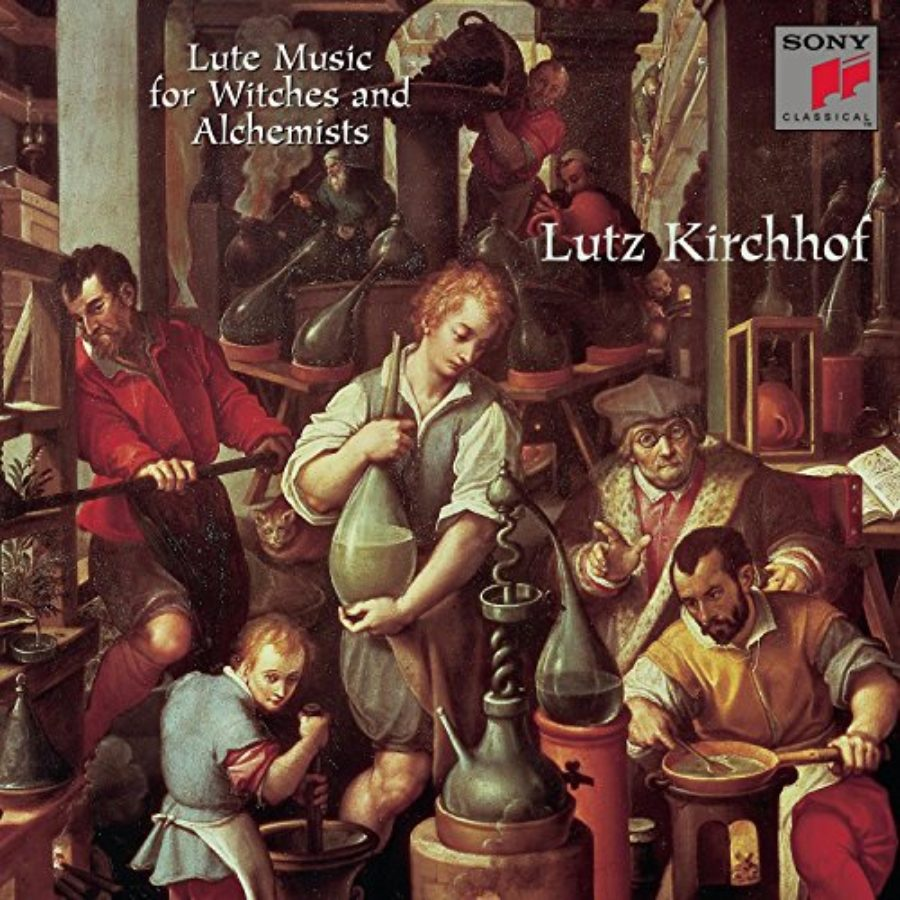Cover of Lute Music for Witches and Alchemists / Lutz Kirchhof
