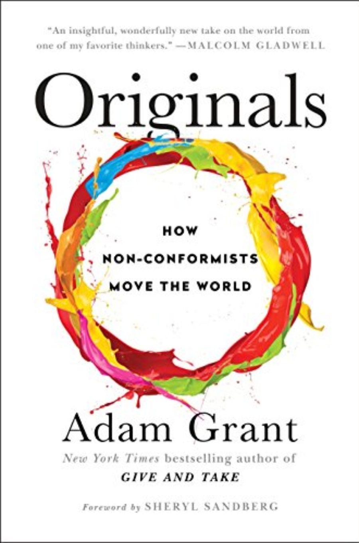 Cover of Originals: How Non-Conformists Move the World