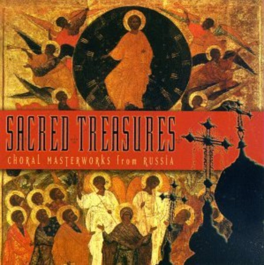 Cover of Sacred Treasures: Choral Masterworks from Russia