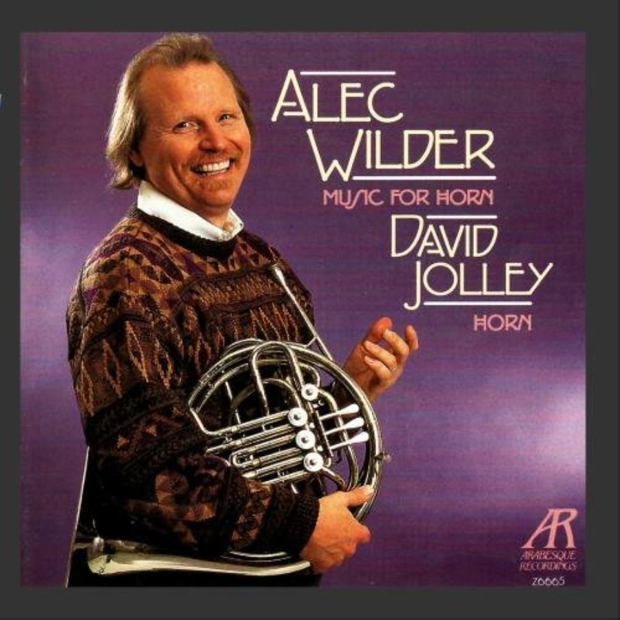 Cover of Alec Wilder: Music for Horn