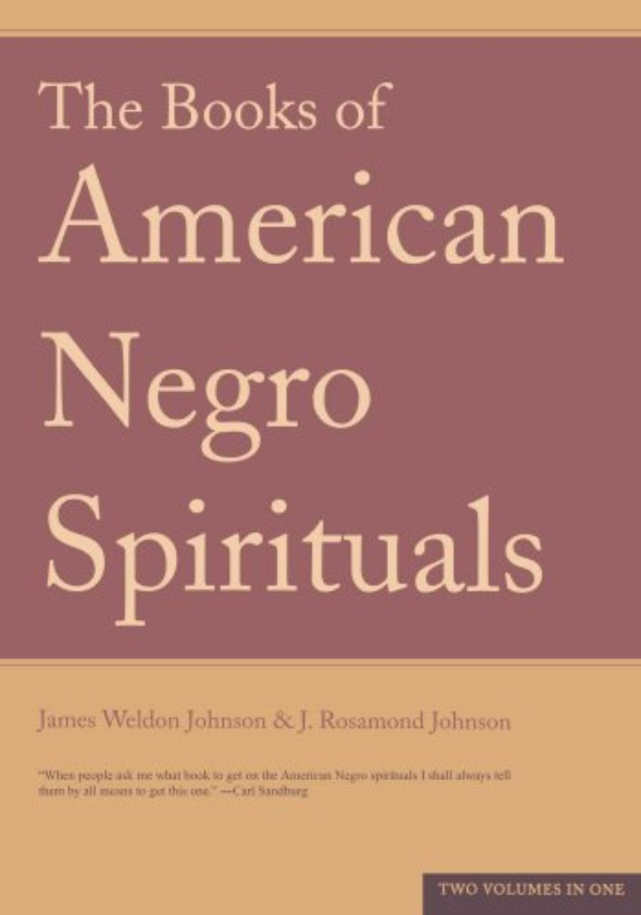 Cover of The Books of the American Negro Spirituals