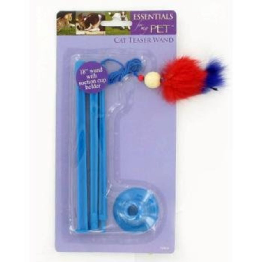 Cover of Cat Teaser Wand 18 Inch Assorted Colors