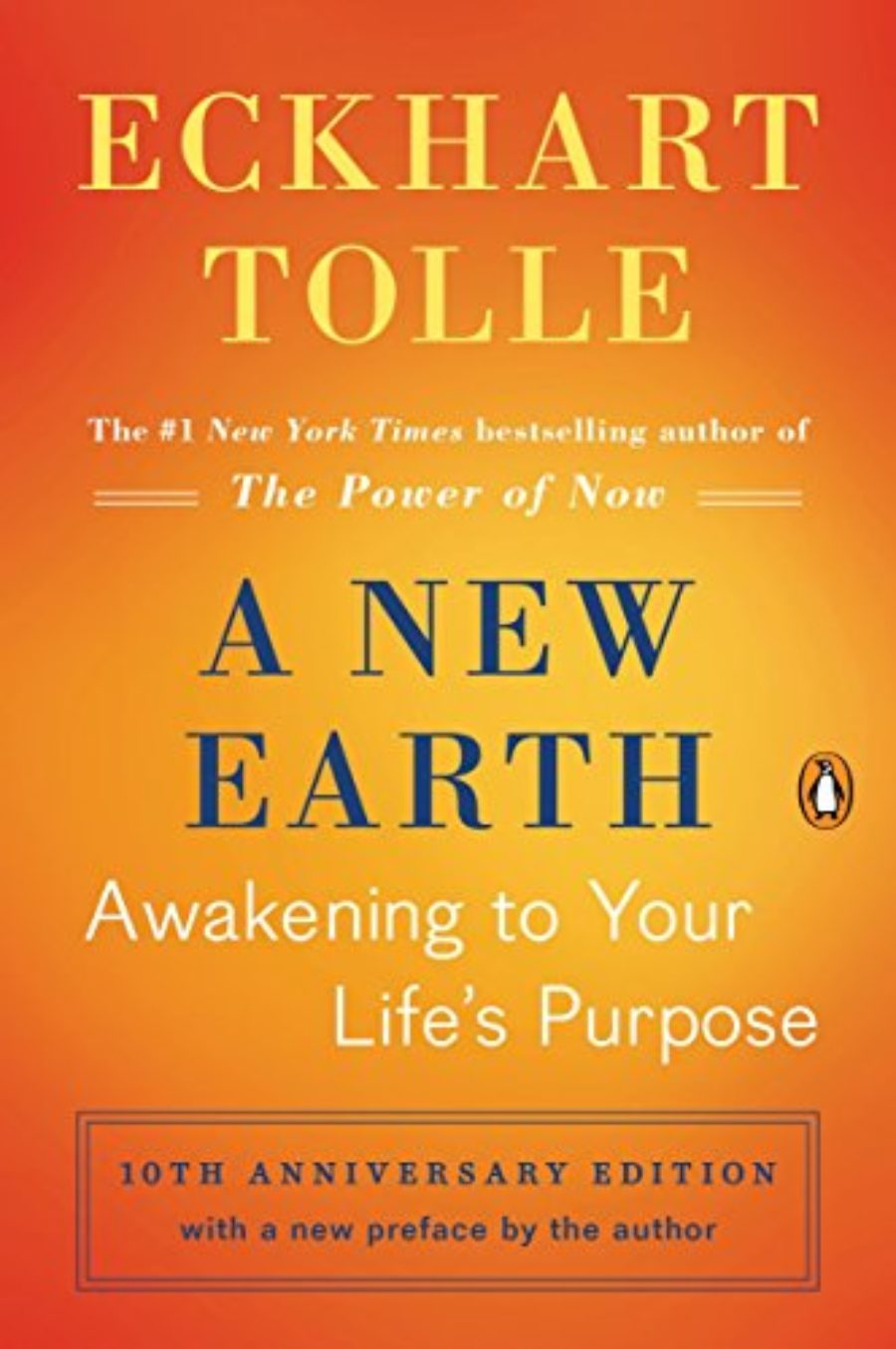 Cover of A New Earth: Awakening to Your Life's Purpose (Oprah's Book Club, Selection 61)