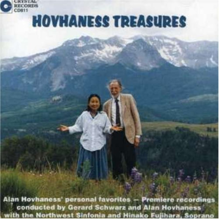 Cover of Hovhaness Treasures