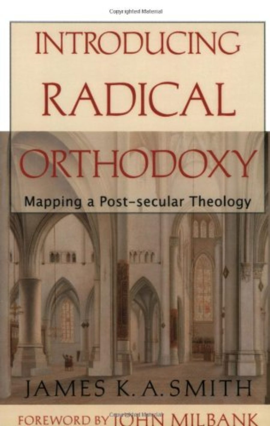 Cover of Introducing Radical Orthodoxy: Mapping a Post-secular Theology