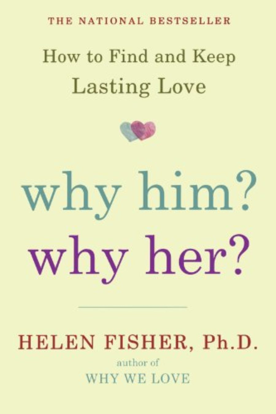 Cover of Why Him? Why Her?: How to Find and Keep Lasting Love