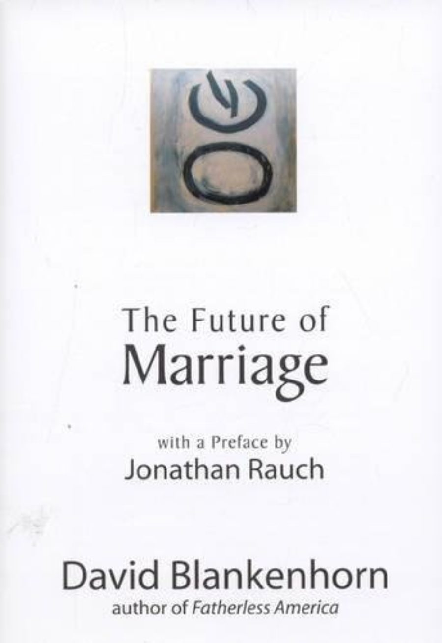 Cover of The Future of Marriage