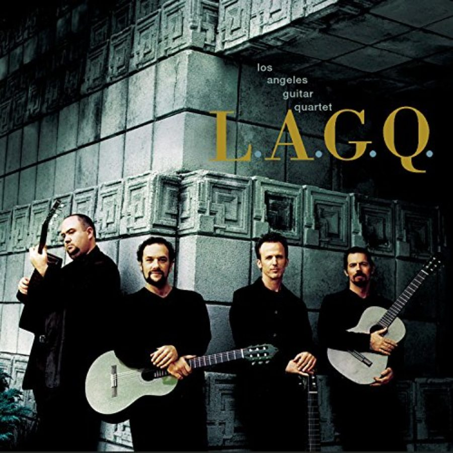 Cover of L.A.G.Q. (Los Angeles Guitar Quartet)