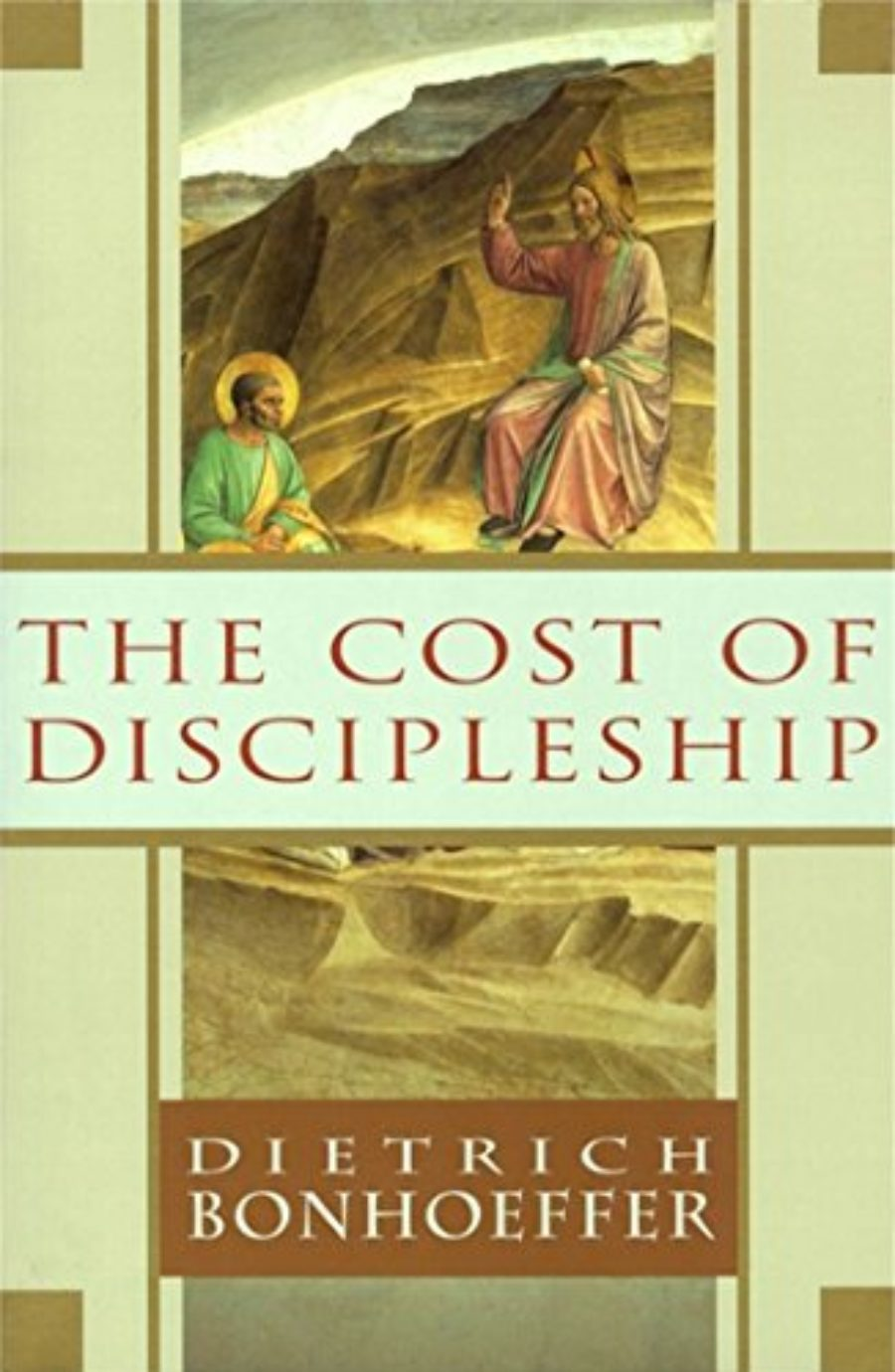 Cover of The Cost of Discipleship