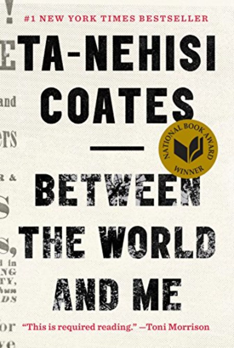 Cover of Between the World and Me