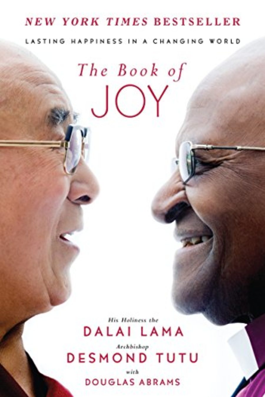 Cover of The Book of Joy: Lasting Happiness in a Changing World