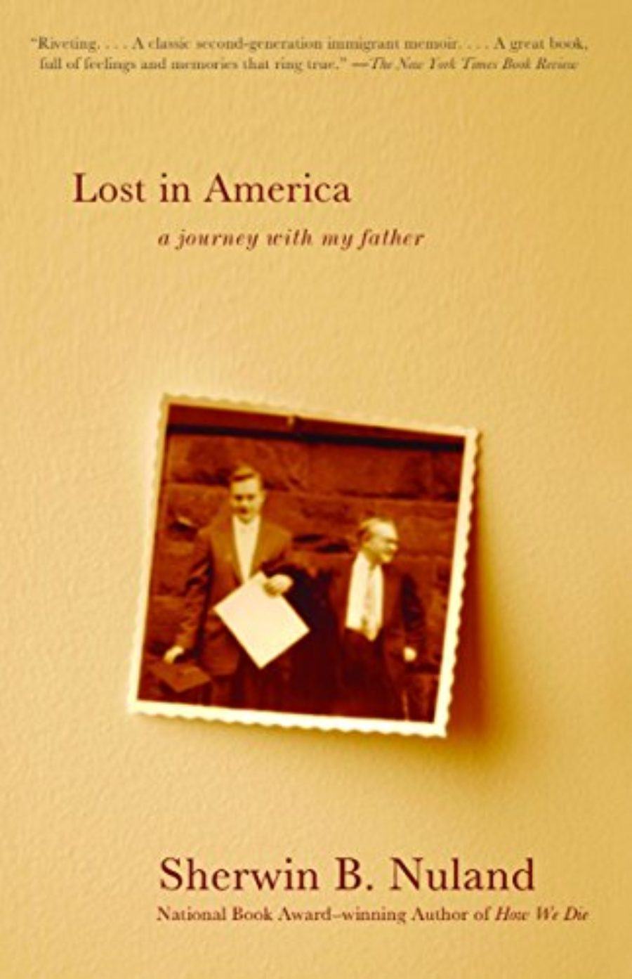 Cover of Lost in America: A Journey with My Father