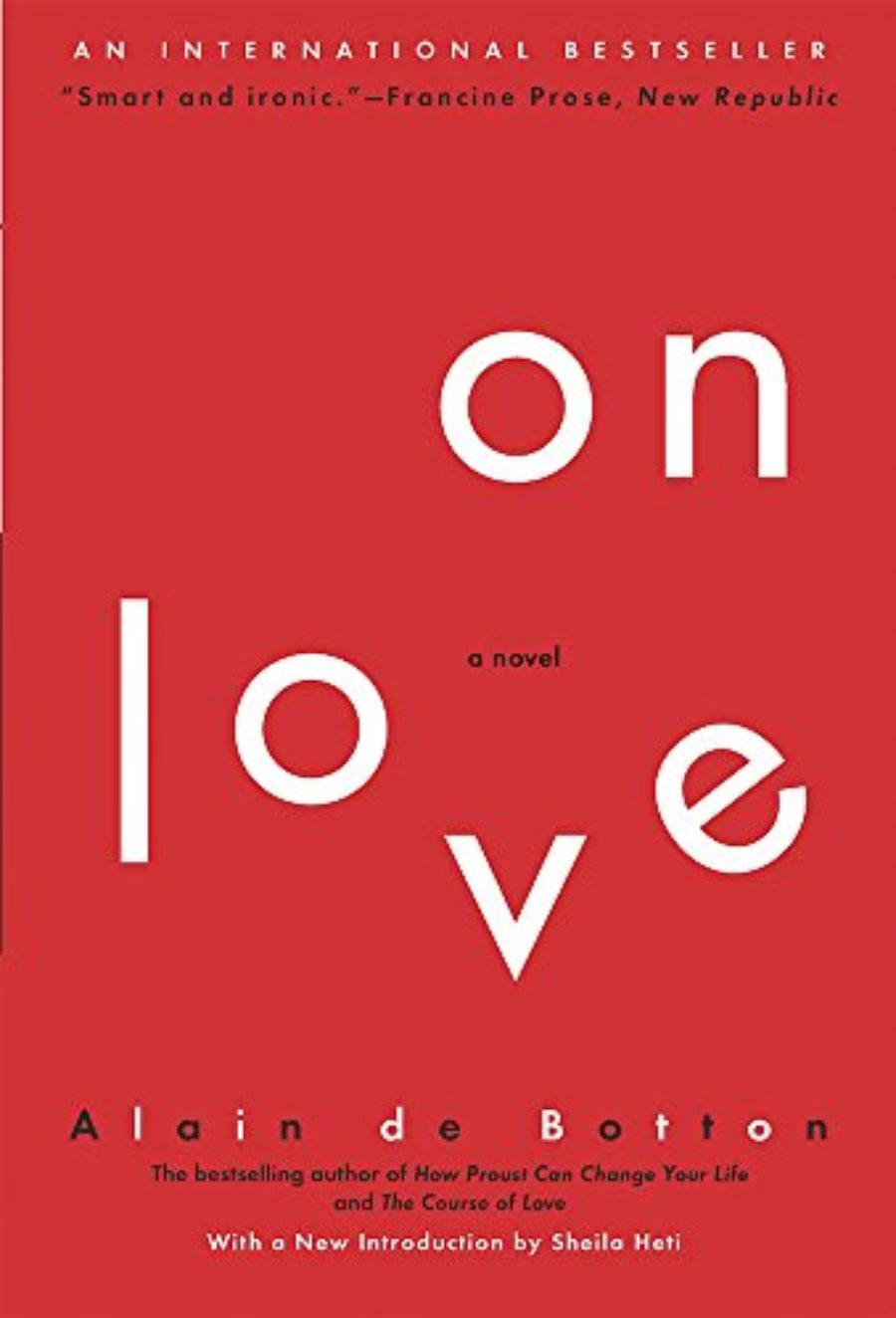 Cover of On Love: A Novel