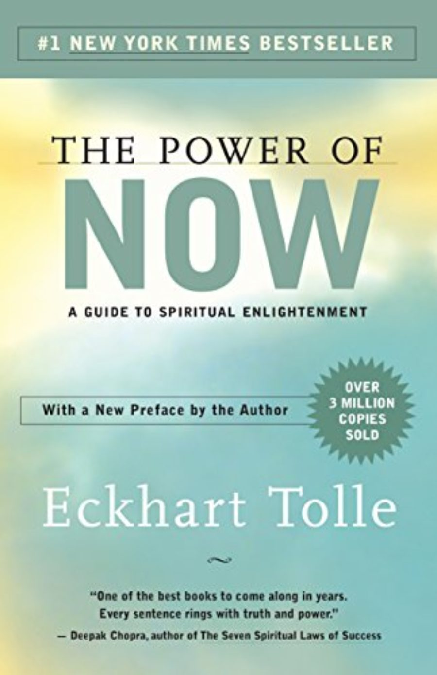 Cover of The Power of Now: A Guide to Spiritual Enlightenment