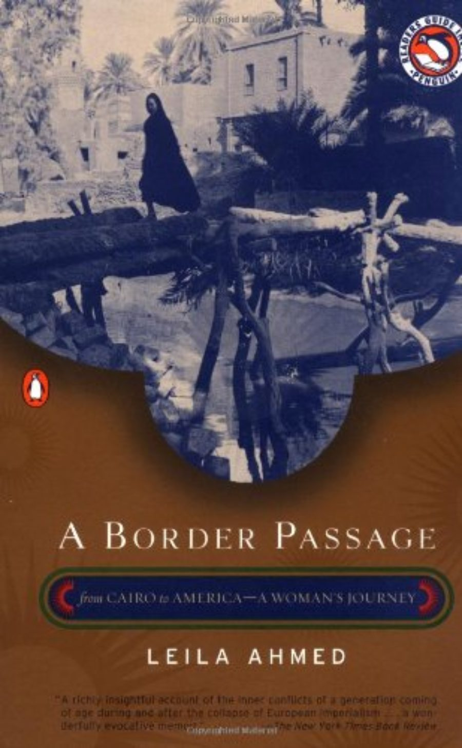 Cover of A Border Passage: From Cairo to America--A Woman's Journey